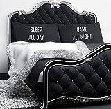 60 Second Makeover Limited Sleep alle Tag Spiel Nacht Paar Kissen schwarz Kopfkissen Teenager Geschenk Weihnachten Geburtstag Gaming