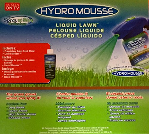 Hydro Mousse Sprührasen - As seen on TV - das Original von MediaShop