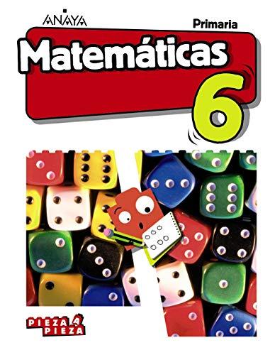 Matemáticas 6 (Incluye Taller de Resolución de problemas) (Pieza a Pieza)