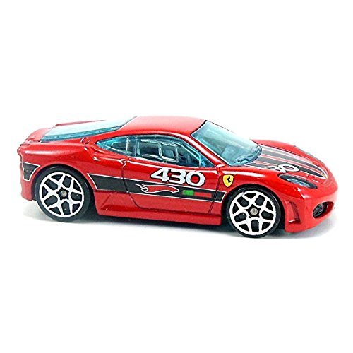 2009 Hot Wheels Mystery Cars Red Ferrari F430 Challenge w/ White Y5s by Hot Wheels