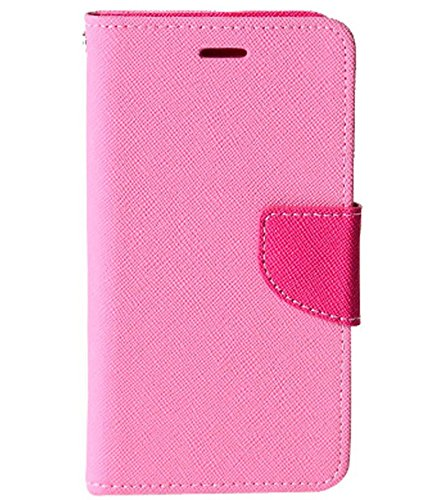 Evoque Mercury Flip Cover For Samsung Galaxy S5 G900 - Pink  available at amazon for Rs.299