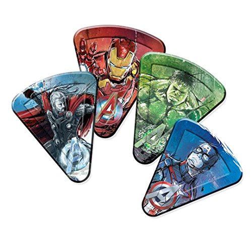 Unique Party Supplies Avengers Age of Ultron Pizza Pappteller, 8Stück (Ice Age Party Supplies)
