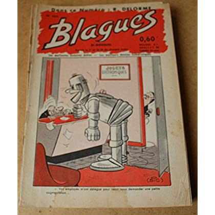Blagues n° 265- dans ce numéro Roger Delorme