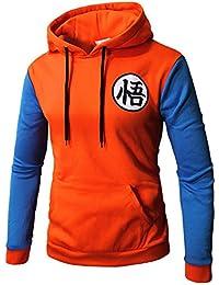 38543bd6aaa3 PIZZ ANNU Dragon Ball Pullover Goku Kapuzenpullover Klassischer Dragonball  Mantel