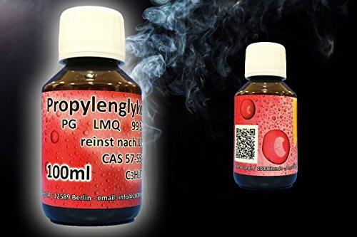 100ml Propylenglykol PG E-Liquid Base Propylenglycol 99,5 % LMQ reinst nach USP