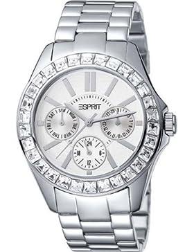 Esprit Damen Armbanduhr DOLCE VITA SILVER A.ES102392007