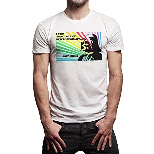 Disturbing-Star-Wars-Heterosexuality-Background.jpg Herren T-Shirt Weiß