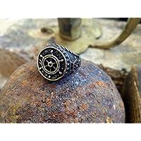 Anello moda uomo Gioielli Timone Black Sail Collezione Bronze