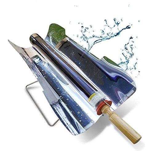 SHANGXIAN Portable Edelstahl Solargrill Umweltschutz Kohlenstoffarmer Sonnenenergie-Grillgrill Köstlich Für Camp-Reisen Im Freien,Unfold67*34*27Cm -
