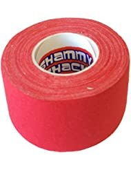 Shammy Shack - Cinta de algodón para empuñadura de palo de hockey rojo rosso Talla:60mm x 40mm x 10m