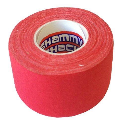 Hockey Band, Baumwolle rot rot 60mm x 40mm x 10m