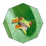 Viaje umbralla-windproof compacto paraguas plegable portátil con marco reforzado, 8varillas...