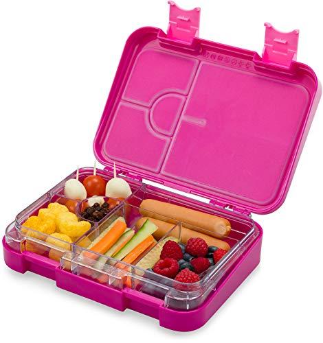 schmatzfatz junior Kinder Lunchbox, Bento Box mit variablen Fächern (Lila) (Und Lunch-box)