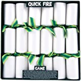6 Quick Fire Game Christmas Crackers