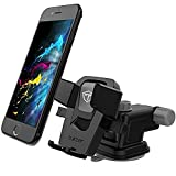 #10: Tukzer Quick Touch Premium TZ-AC-103 Car Mount Mobile Holder Stand (Black and Grey)