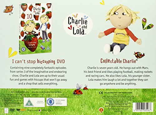 Charlie & Lola Gift Set - I Can't Stop Hiccuping! (Charlie Version) [DVD]