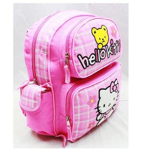 Klein Rucksack–Hello Kitty–Teddy Bear NEW SCHOOL Tasche Buch Mädchen 81603–2