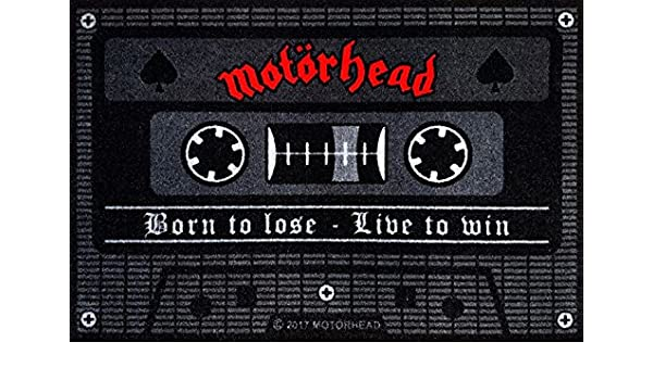 for-collectors-only Paillasson Motif Born to Lose Live to Win