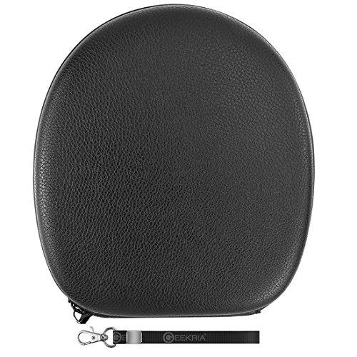 Geekria Ultrashell headphones custodia per grado SR80SR80E SR80I SR60SR60I SR60E RS2RS1RS2I RS1I RS2E RS1E SR125SR325PS500/hard shell Carrying case/protettiva borsa da viaggio (nero)