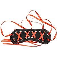 FENICAL Fetisch PU Leder Augenbinde mit Band Erotische Bondage Restraint Maske Spaß Spielzeug für Paare Flirten preisvergleich bei billige-tabletten.eu