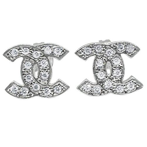 Damen Ohrringe Perfektes Geschenk (Produktcode 2543-CC-456) (Silber)
