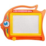 TOYMYTOY Magnetic Drawing Board for Kids Magna Doodle Toy Colorful Writing Sketching Pad