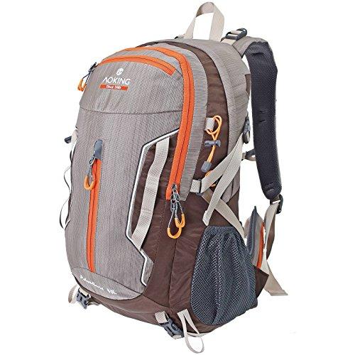 Multifunktionsrucksack Campus Daypack Rucksack City Rucksack / Schule Arbeit & Freizeit / Bag A / 4 Outdoor Schulrucksack (Beige)