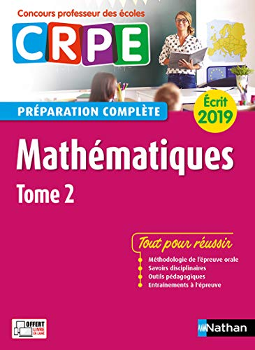 Mathématiques – Épreuve écrite 2019 – Tome 2