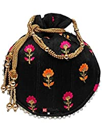 Siddhi Sales Drawstring Closure Potli Bag