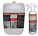 Edelstahlreiniger 2.500 ml Reiniger Reinigungsmittel Dunsthaube Ablufthaube Dunstabzugshaube Küche Stahl