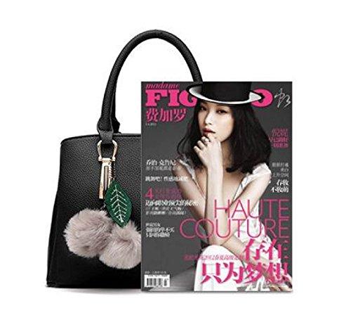 Dame Fashion Bequeme Handtasche Handtasche Trendy Wild Big Bag Schulter Oblique Handtasche Street Shopping Damen Tasche D