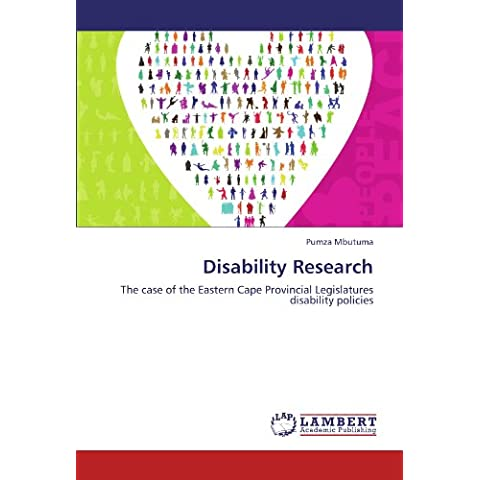 Disability Research: The case of the Eastern Cape Provincial Legislatures disability policies