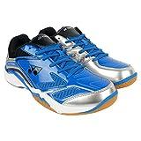 YONEX Blue & Silver Power Cushion Badminton Shoes For Men & Women