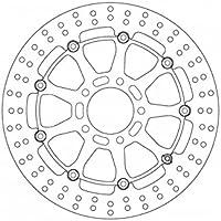 Ferodo fmd0349rx Brake Disc (Brake DISCS Moto)/Brake Disc fmd0349rx Floating (Motorcycle Disk) preiswert
