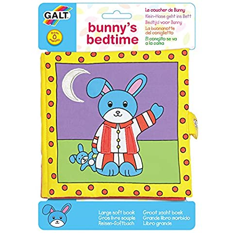 Galt toys Large Soft Book – Bunny's Bedtime