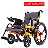 CHUDAN Comfort Electric self-propelled wheelchair Light Foldable Power Free-riding - Electric Wheelchair