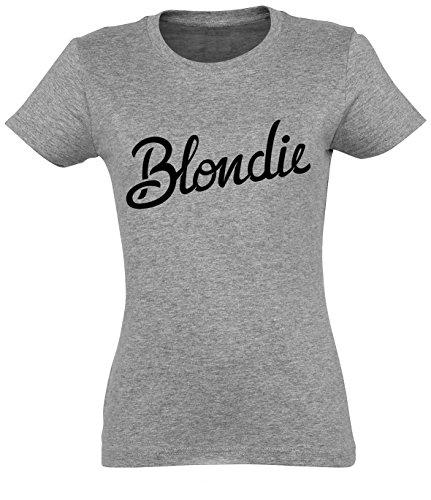Blondie Sign Women grey Melange