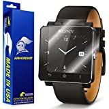ArmorSuit MilitaryShield - Sony SmartWatch 2 Screen Protector Shield + Lifetime Replacements by ArmorSuit
