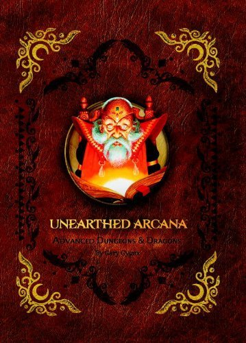 Premium 1st Edition Advanced Dungeons & Dragons Unearthed Arcana (D&D Accessory) by Wizards RPG Team (2013) Hardcover