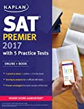 #3: SAT Premier 2017 with 5 Practice Tests: Online + Book (Kaplan Test Prep)