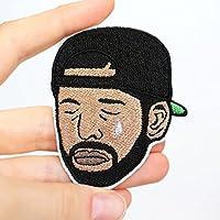 Trauriger Drake Patch von mimosch - Rap Aufnäher