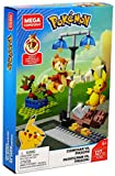 Mega Brands- Pokemon Duello Chimchar Contro Pikachu, Playset con Due Personaggi da Assemblare, GCN12