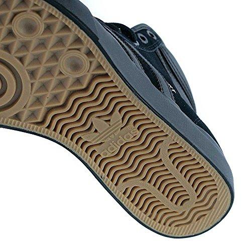 adidas Herren Matchcourt High Rx2 Skateboardschuhe Schwarz (Negbas/Negbas/Dormet)