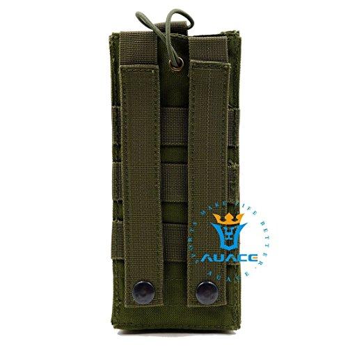 Multifunktions Survival Gear Tactical Beutel MOLLE Beutel Armee Wasser Flasche Tasche, Outdoor Camping Tragbare Tasche Handtaschen Werkzeug Tasche Reise Tasche OD