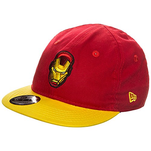 New Era Kinder 9FIFTY Essential Hero Iron Cap, Rot, One Size