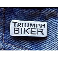 Metallo spilla di smalto Biker Hog chopper bobber Bike distintivo H