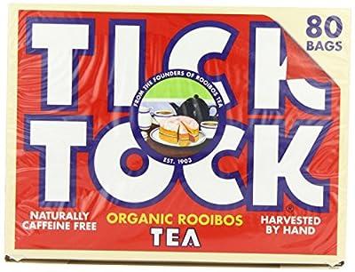 Tick ??Tock Rooibos Tea organiques 80bag x 1