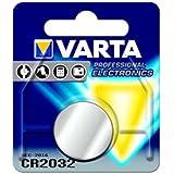 Varta Electronics CR 2032 3 V Lithium Knopfzelle