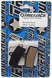 Organic Semi Metallic Disc Brake Pads Fits Fits Shimano BR Models: Saint M810, Saint M820 ZEE M640 H01A, H03A Bengal Models: Helix 4X D01S, D02S by Truckerco