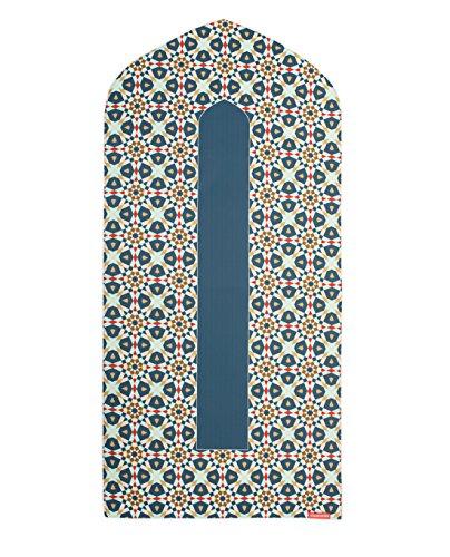 Visual Dhikr Gebetsmatte, Bogenform, schwarz, Standard